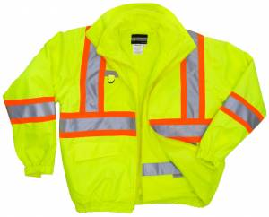 51535-5026 High Visibility 5-IN-1 Jacket with Fleece Inner Jacket