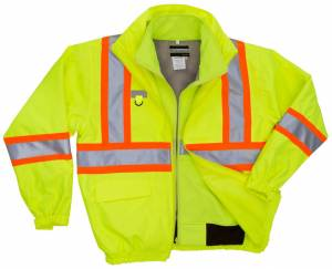 High Visibility 3-IN-1 Jacket with Soft Shell Inner Jacket