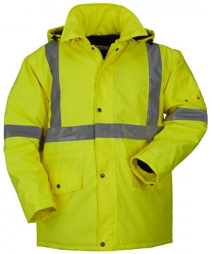 High Visibility Winter Parka Jacket