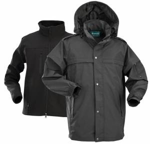 New Oxford 3-IN-1 Jacket with 3M Reflective Material