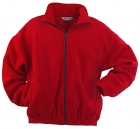 Polyester Fleece Front Zip Jacket