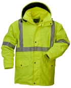 High Visibility 5-IN-1 Parka Jacket with 2-IN-1 Fleece Inner Jacket