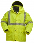 High Visibility 5-IN-1 Parka Jacket with 2-IN-1 Thinsulate Insulation Iinner Jacket
