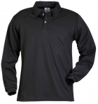 Quick Dry Mesh Men's Long Sleeve Golf Shirt