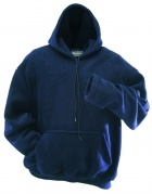 Polyester  Fleece Hooded Pullover (Custom Made)