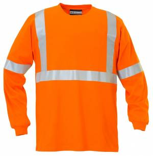 Safety 100% Cotton Long Sleeve T-Shirt