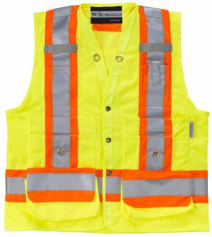 High Visibility Surveyor Vest