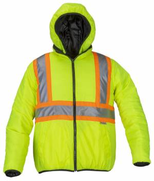 New Insulated Reversible Puffer Jacket