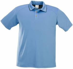Anti-bacterial Men's 3 button golf shirt (Custom Made)