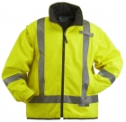 High Visibility 2-in-1 Thermal Jacket with Detachable Sleeves