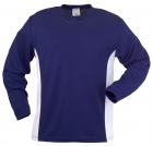 Round Neck 2 Tone Long Sleeve T- Shirt